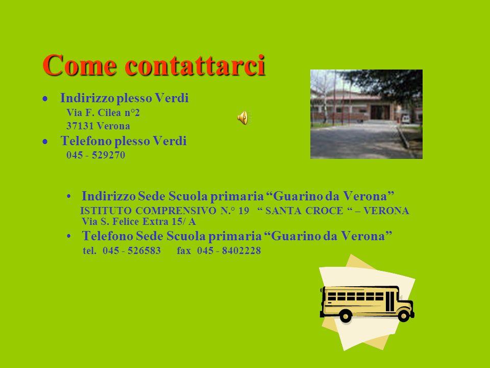 La Scuola secondaria di 1° grado G. Verdi Istituto Comprensivo n°19 – S. Croce vi dà il benvenuto!