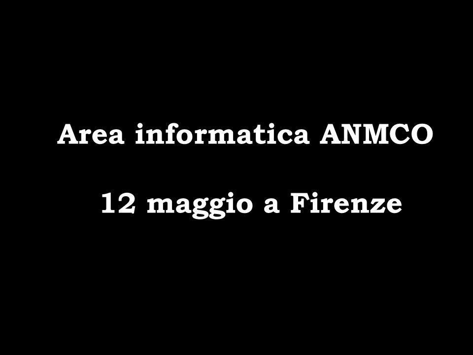 Area informatica ANMCO 12 maggio a Firenze