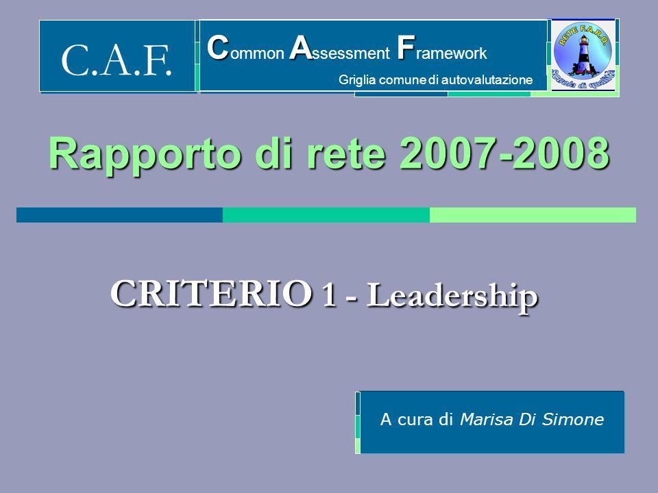 A cura di Marisa Di Simone C.A.F.