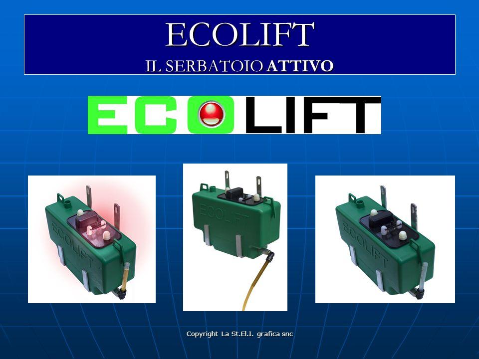 Copyright La St.El.I. grafica snc ECOLIFT IL SERBATOIO ATTIVO