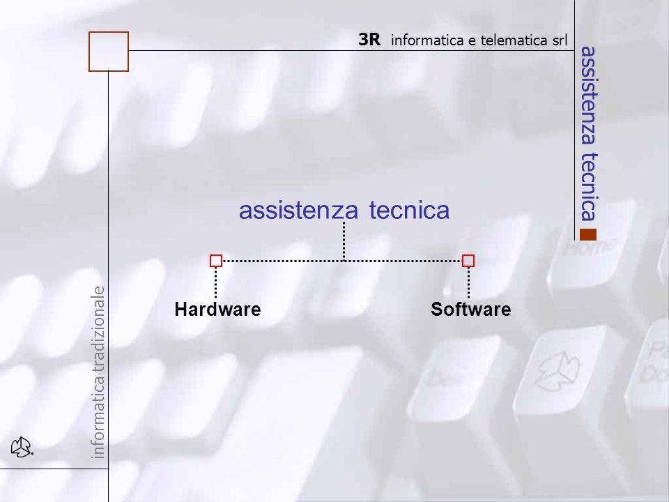 assistenza tecnica informatica tradizionale HardwareSoftware assistenza tecnica 3R informatica e telematica srl