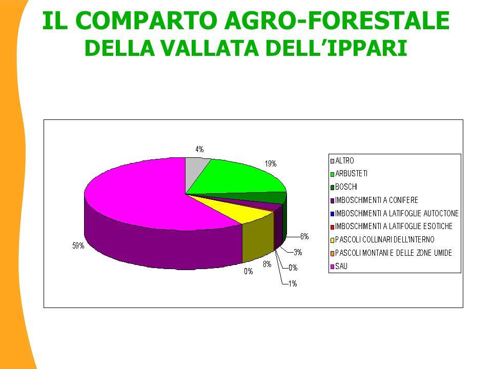 IL COMPARTO AGRO-FORESTALE DELLA VALLATA DELLIPPARI