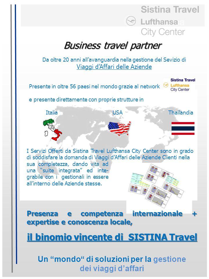 Un mondo di soluzioni per la gestione dei viaggi daffari Business travel partner Da oltre 20 anni allavanguardia nella gestione del Sevizio di Viaggi