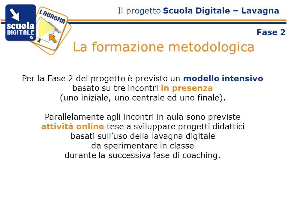 Per la Fase 2 del progetto è previsto un modello intensivo basato su tre incontri in presenza (uno iniziale, uno centrale ed uno finale).