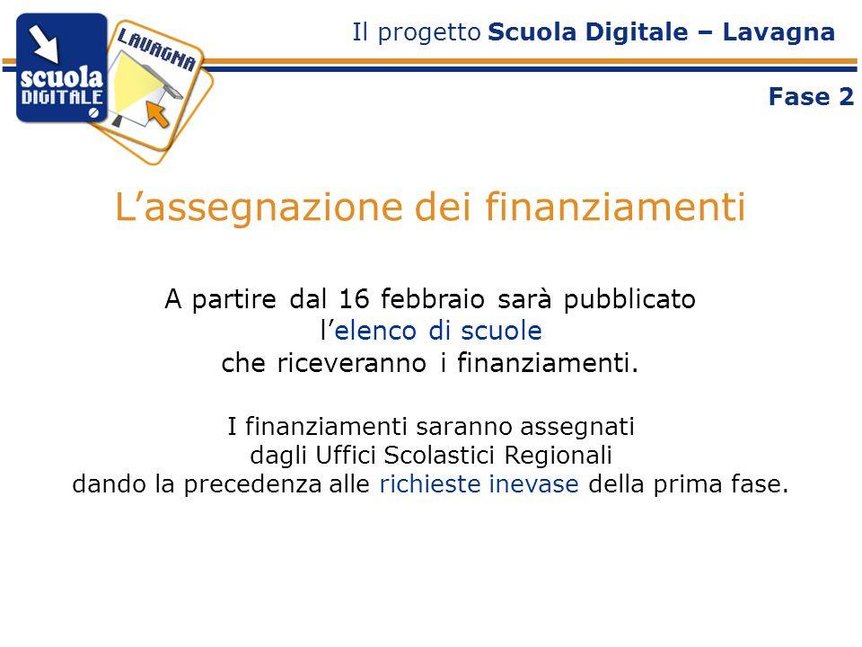 A partire dal 16 febbraio sarà pubblicato lelenco di scuole che riceveranno i finanziamenti.