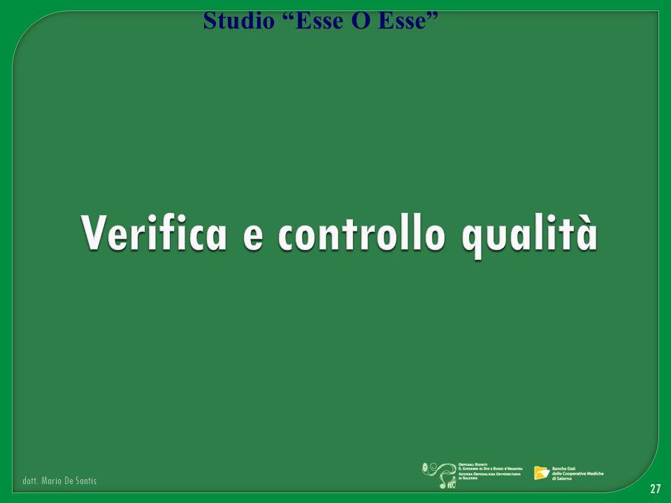 27 dott. Mario De Santis Studio Esse O Esse