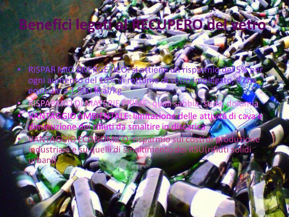 Vantaggi del compost Luso del compost può ridurre l impiego dei fertilizzanti veri e propri, con vantaggi economici ed ecologici, con minori quantità di fosfati e di nitrati nei corsi dacqua.