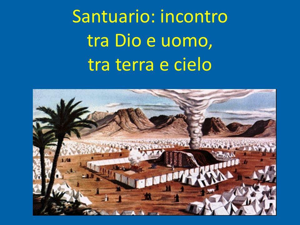 Santuario: incontro tra Dio e uomo, tra terra e cielo