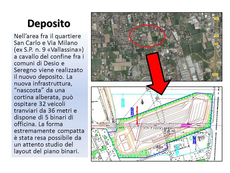Deposito Nellarea fra il quartiere San Carlo e Via Milano (ex S.P. n. 9 «Vallassina») a cavallo del confine fra i comuni di Desio e Seregno viene real