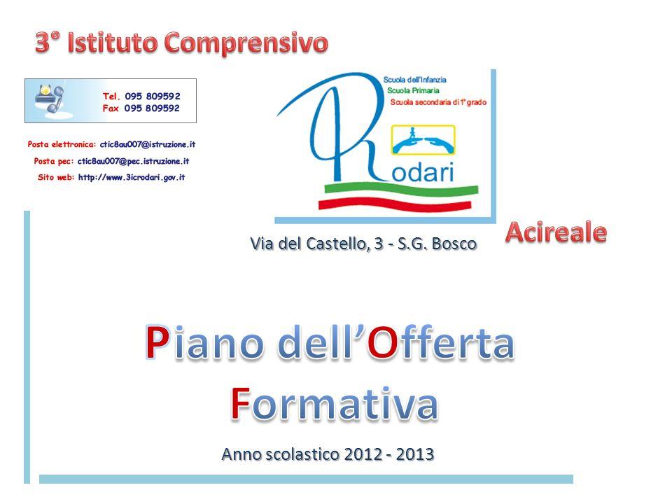 Via del Castello, 3 - S.G. Bosco Anno scolastico 2012 - 2013