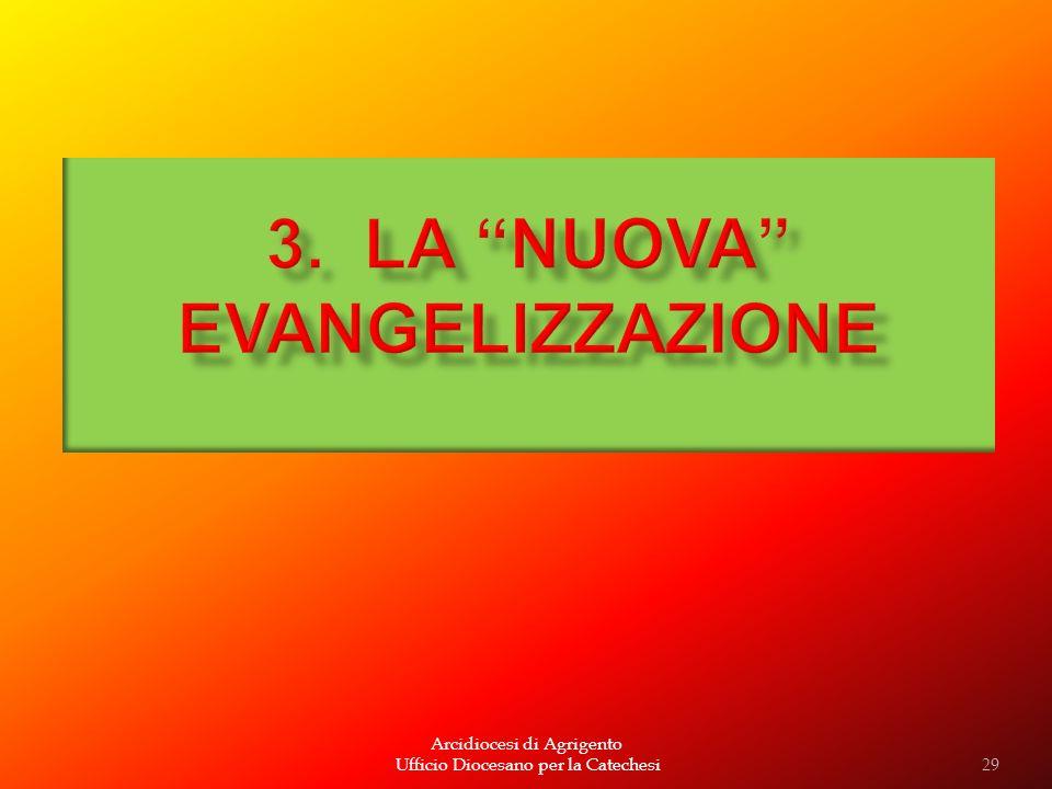 Arcidiocesi di Agrigento Ufficio Diocesano per la Catechesi29