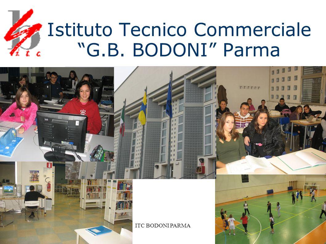 ITC BODONI PARMA Per una nuova didattica La nostra scuola ha nel tempo costruito un ambiente didattico innovativo e all avanguardia.