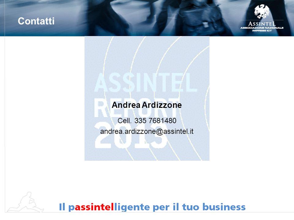 Andrea Ardizzone Cell. 335 7681480 andrea.ardizzone@assintel.it Contatti
