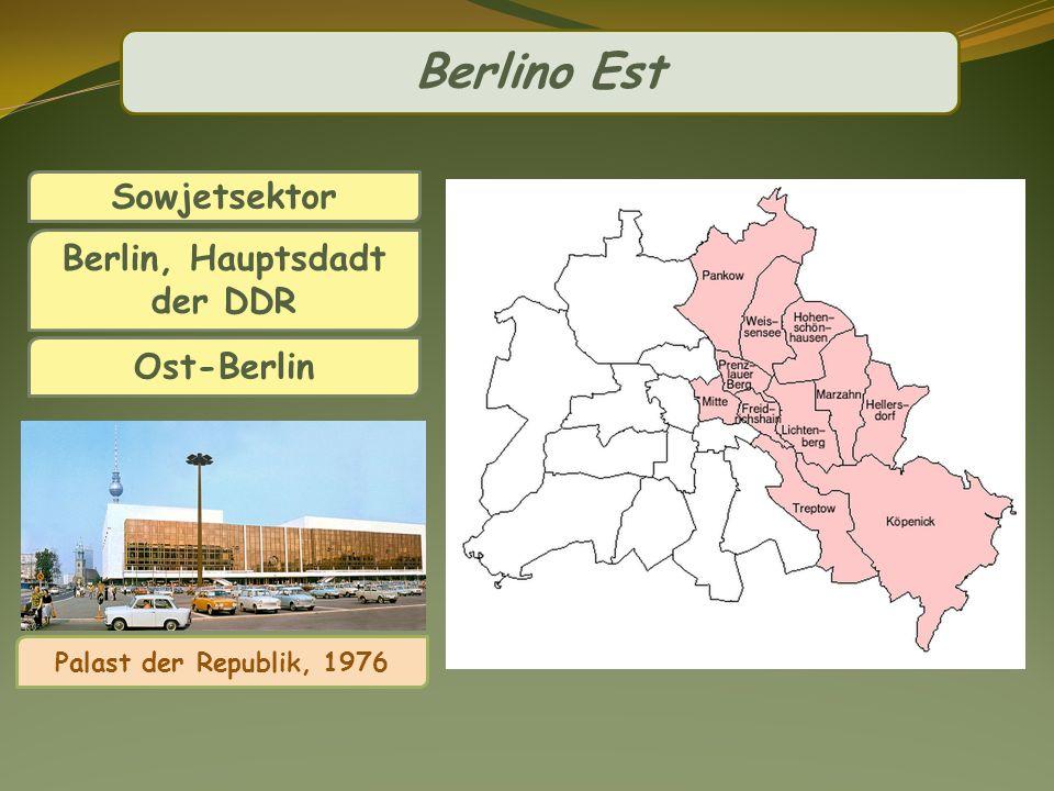 Sowjetsektor Berlin, Hauptsdadt der DDR Ost-Berlin Palast der Republik, 1976 Berlino Est