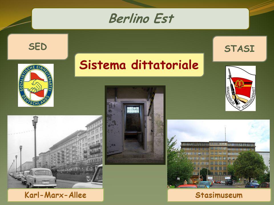 Sistema dittatoriale STASI Stasimuseum SED Karl-Marx-Allee