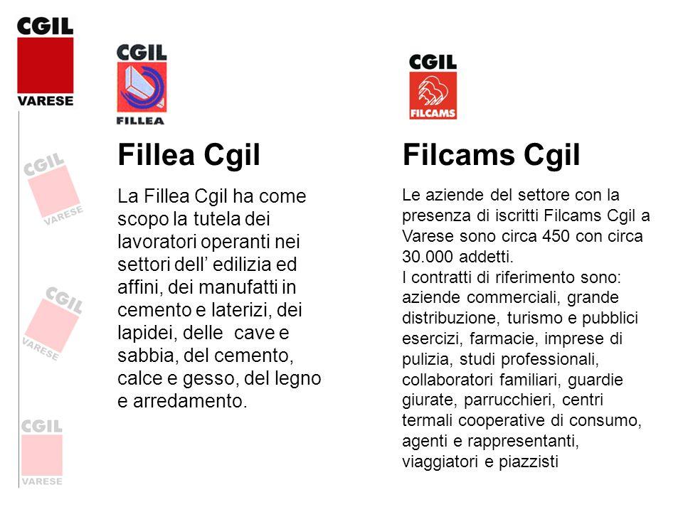 Fillea Cgil La Fillea Cgil ha come scopo la tutela dei lavoratori operanti nei settori dell edilizia ed affini, dei manufatti in cemento e laterizi, d