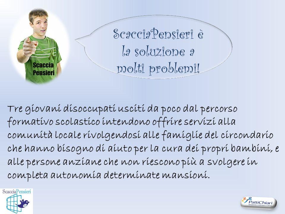 ScacciaPensieri è la soluzione a molti problemi.
