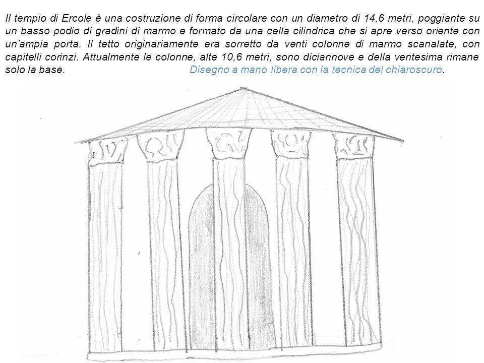 Il tempio di Ercole Vincitore Ercole Oleario (Hercules Olivarius) IV parte dell itinerario