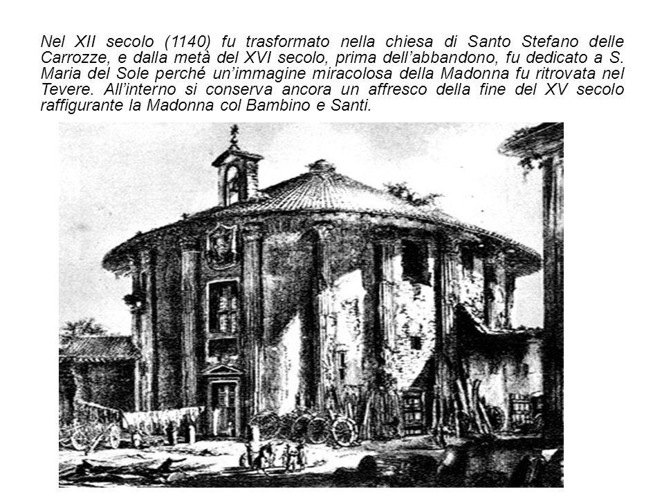 La trasformazione del tempio in chiesa avvenuta nel Medioevo probabilmente è stata determinante alla sua buona conservazione fino al XIX secolo.