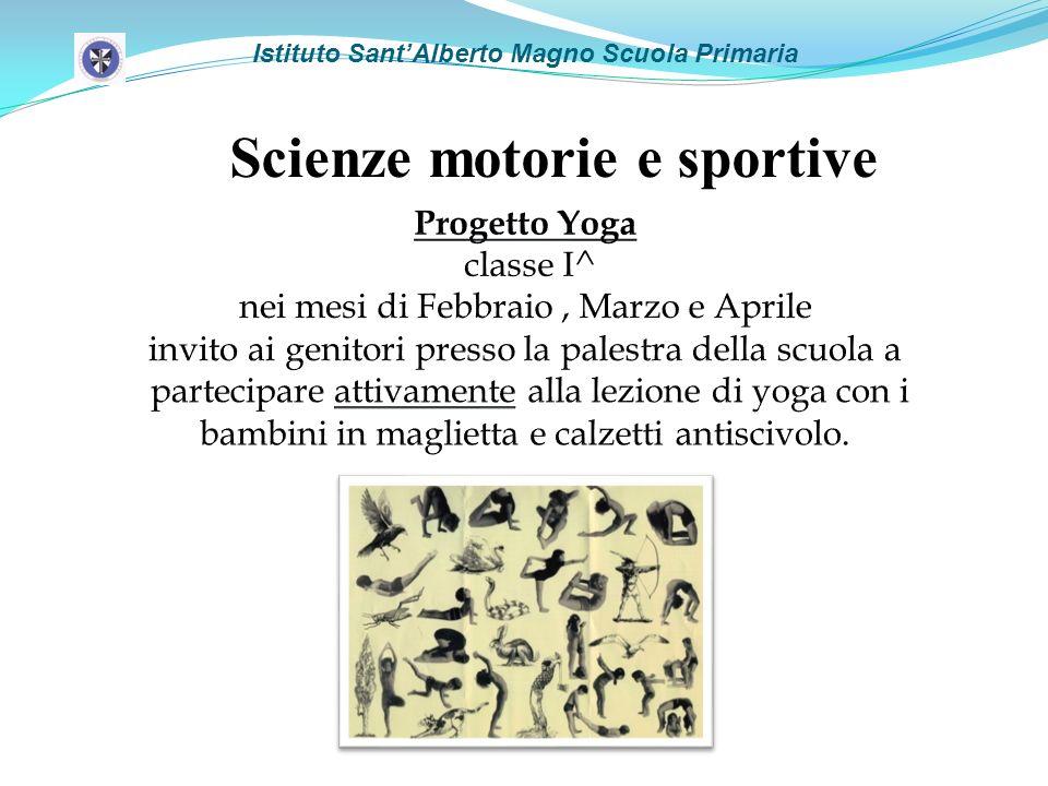 Istituto SantAlberto Magno Scuola Primaria Scienze motorie e sportive