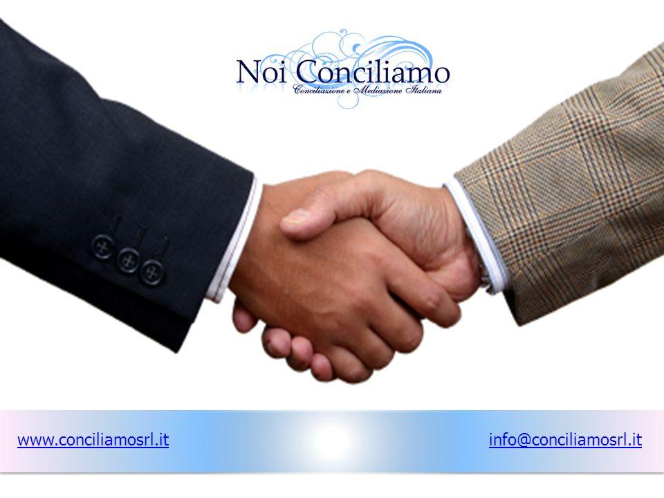 www.conciliamosrl.it info@conciliamosrl.it