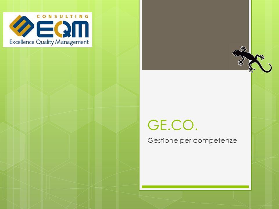GE.CO. Gestione per competenze