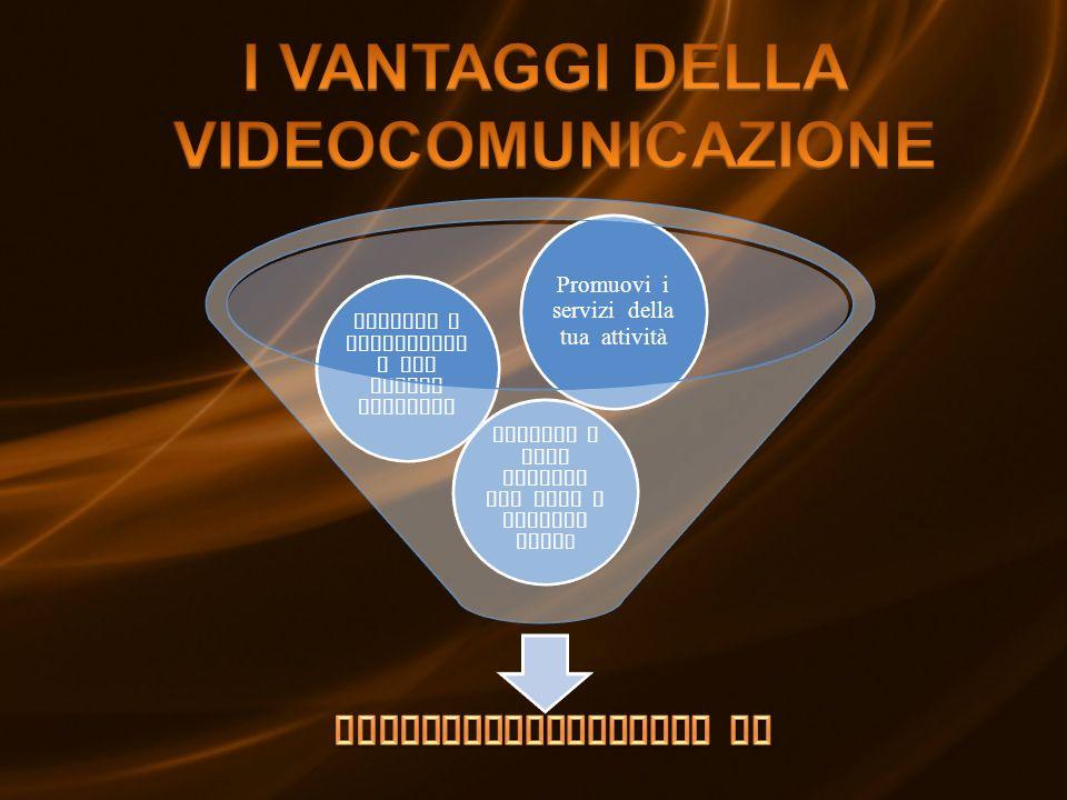 Informi e intrattien i con canali tematici Informi i tuoi clienti con news e notizie util i Promuovi i servizi della tua attività