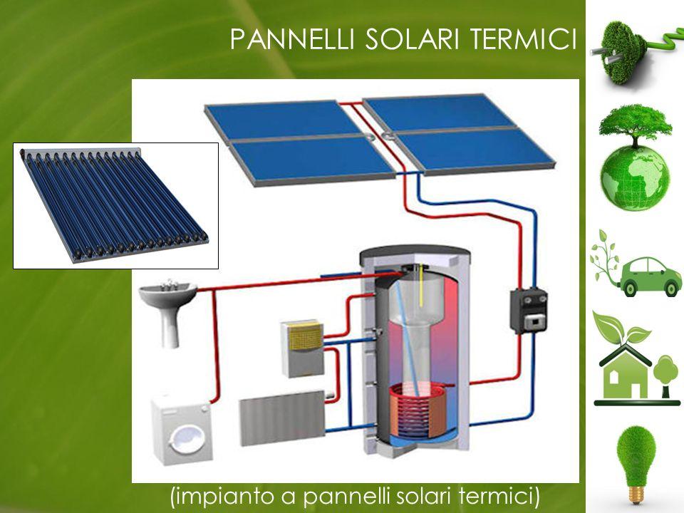 PANNELLI SOLARI TERMICI (impianto a pannelli solari termici)