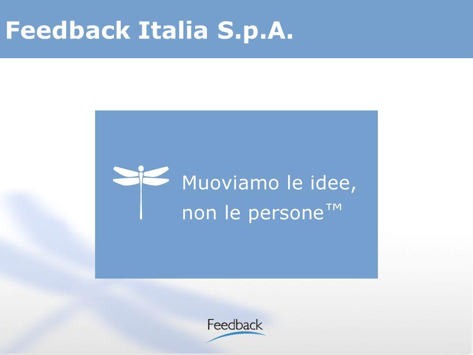 2 Software house che progetta e sviluppa sistemi di videocomunicazione interattiva su IP Feedback Italia S.p.A.