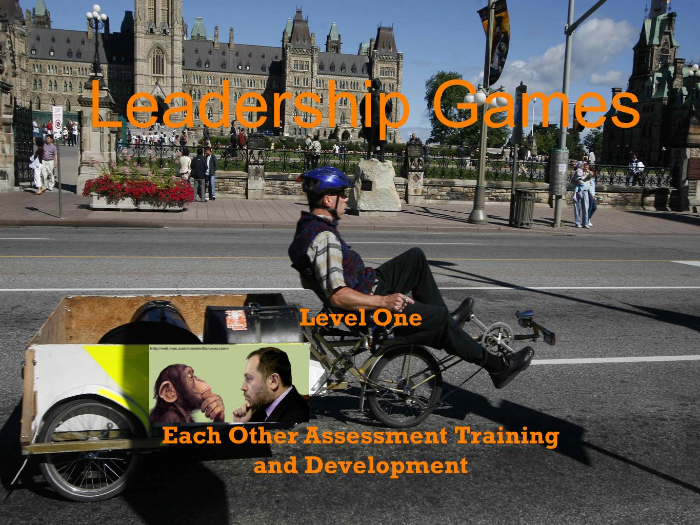 Leadership Games Level One Each Other Assessment Training and Development