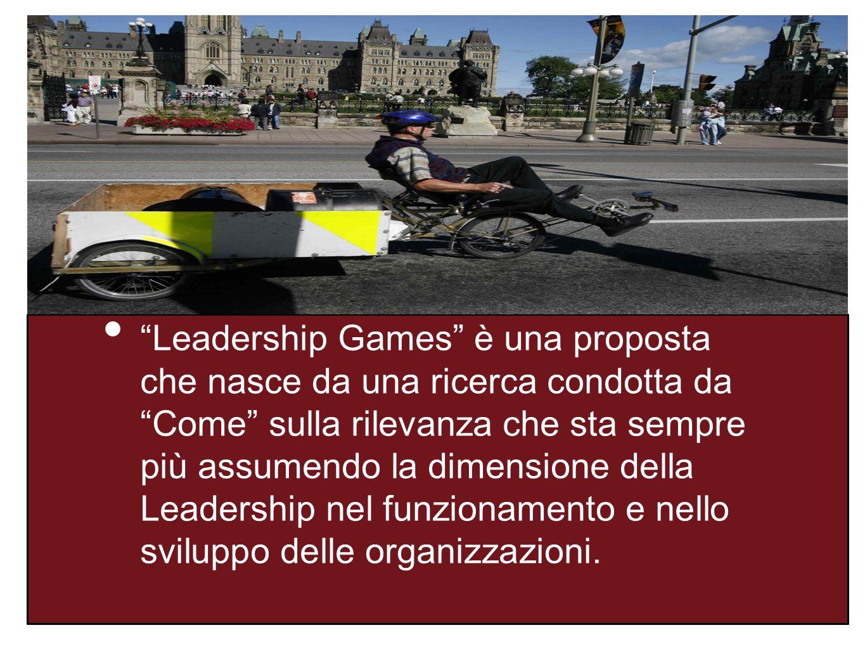 INT RO Leadership Games è una proposta che nasce da una ricerca condotta da Come sulla rilevanza che sta sempre più assumendo la dimensione della Leadership nel funzionamento e nello sviluppo delle organizzazioni.