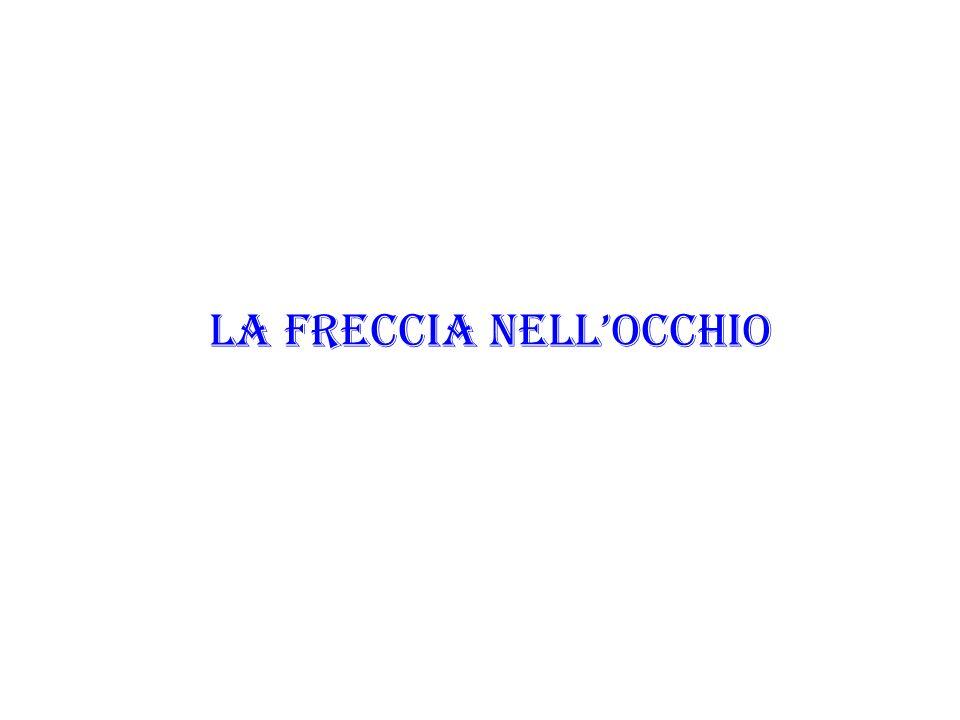 LA FRECCIA NELLOCCHIO