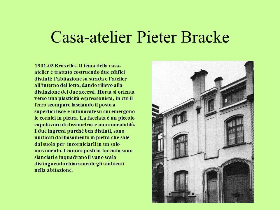 Hotel Roger-Verstraeten 1901-04 Bruxelles.