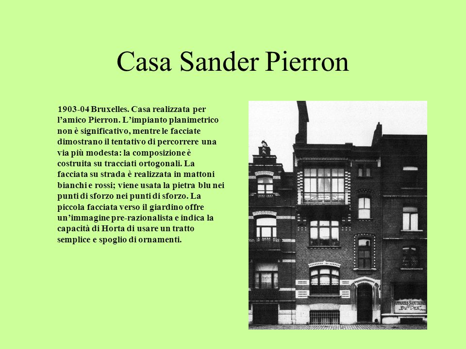 Casa-atelier Pieter Bracke 1901-03 Bruxelles.