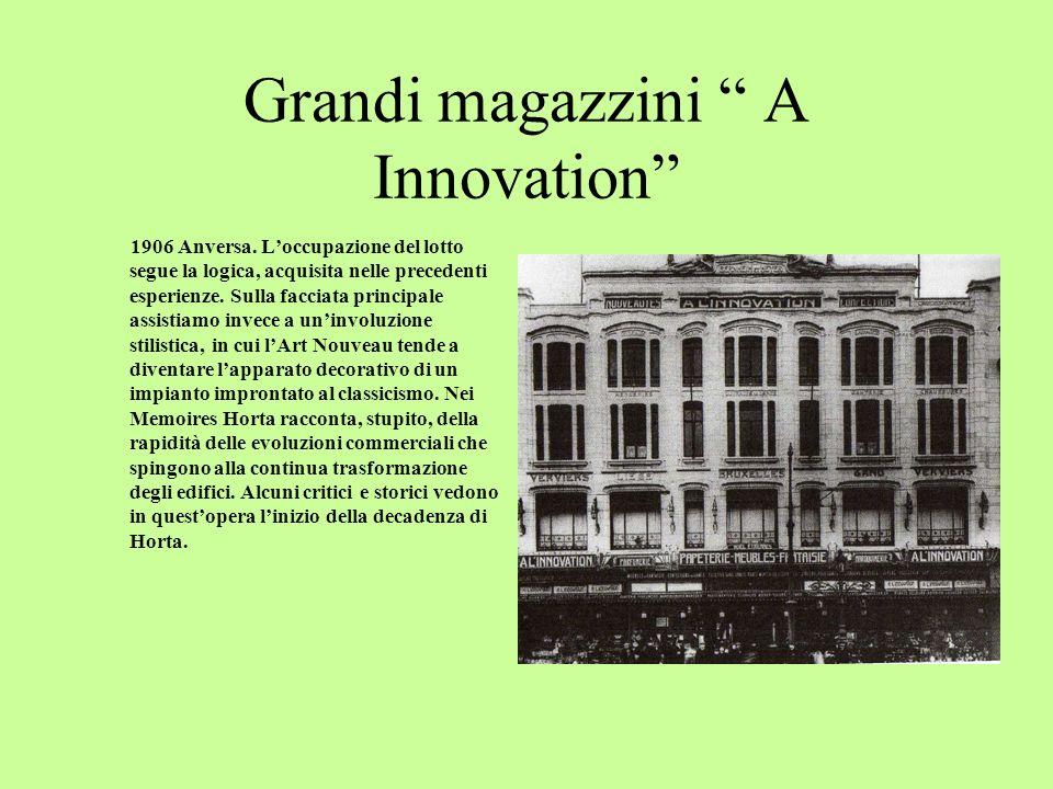 Grandi magazzini Kaufhaus Hansa 1903/05 Francoforte.