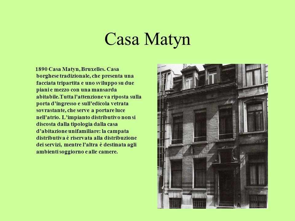 Case Geenens 1885 Case Geenens, Gent.Realizzate durante il tirocinio presso Alphonse Balat.
