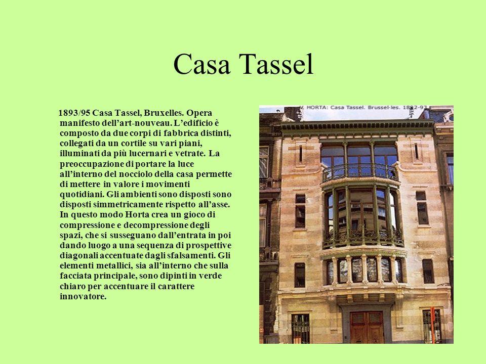 Casa Matyn 1890 Casa Matyn, Bruxelles.