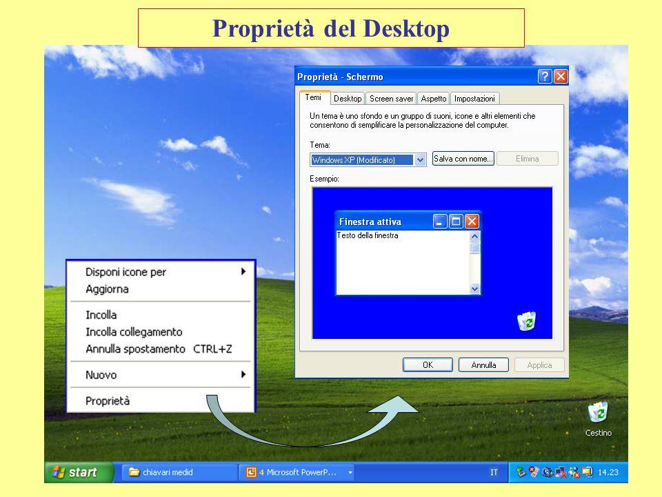 Proprietà del Desktop