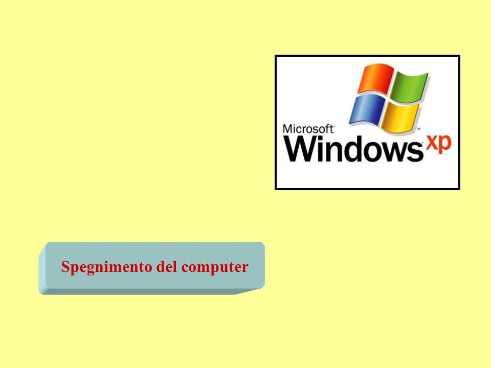 Spegnimento del computer
