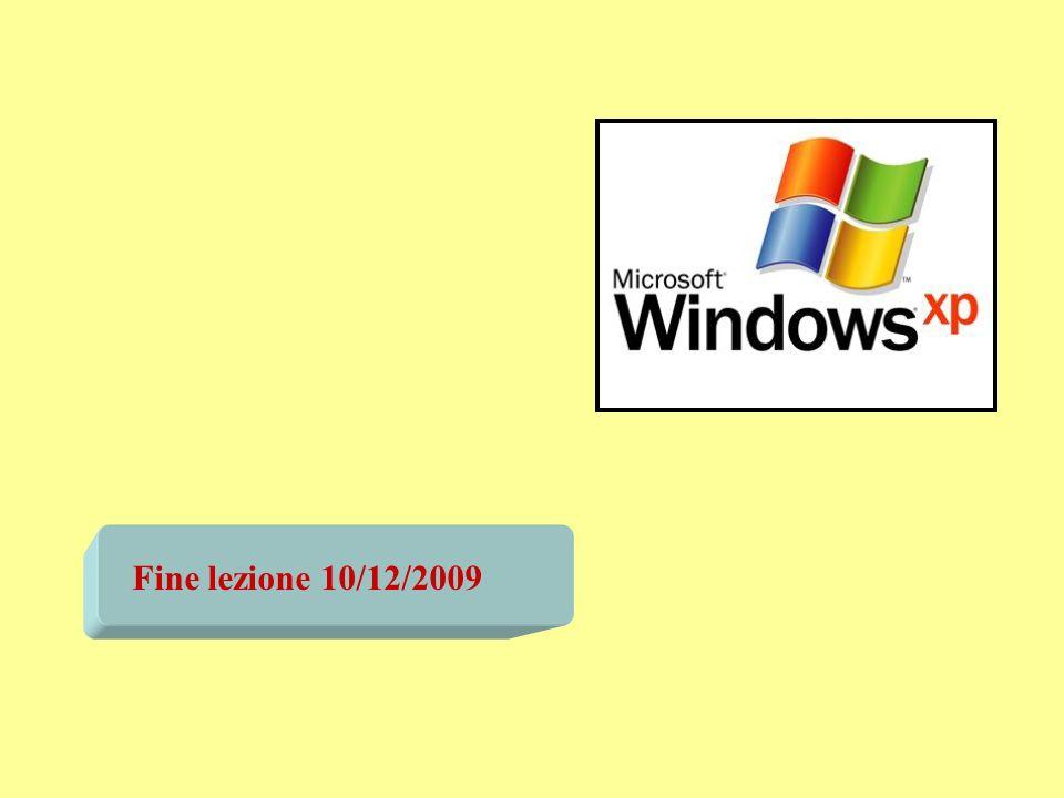 Fine lezione 10/12/2009
