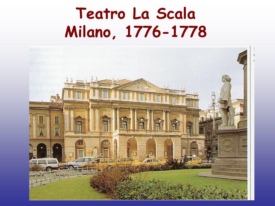 Teatro La Scala Milano, 1776-1778