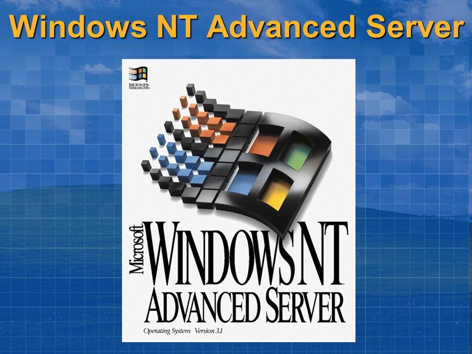 Windows NT Advanced Server
