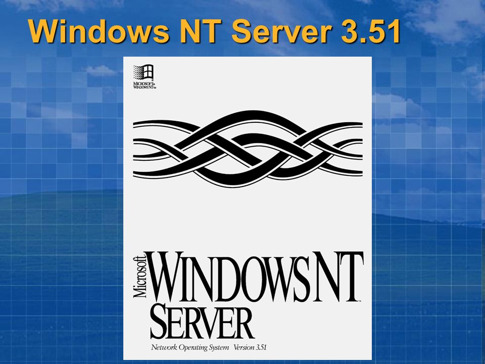 Windows NT Server 3.51
