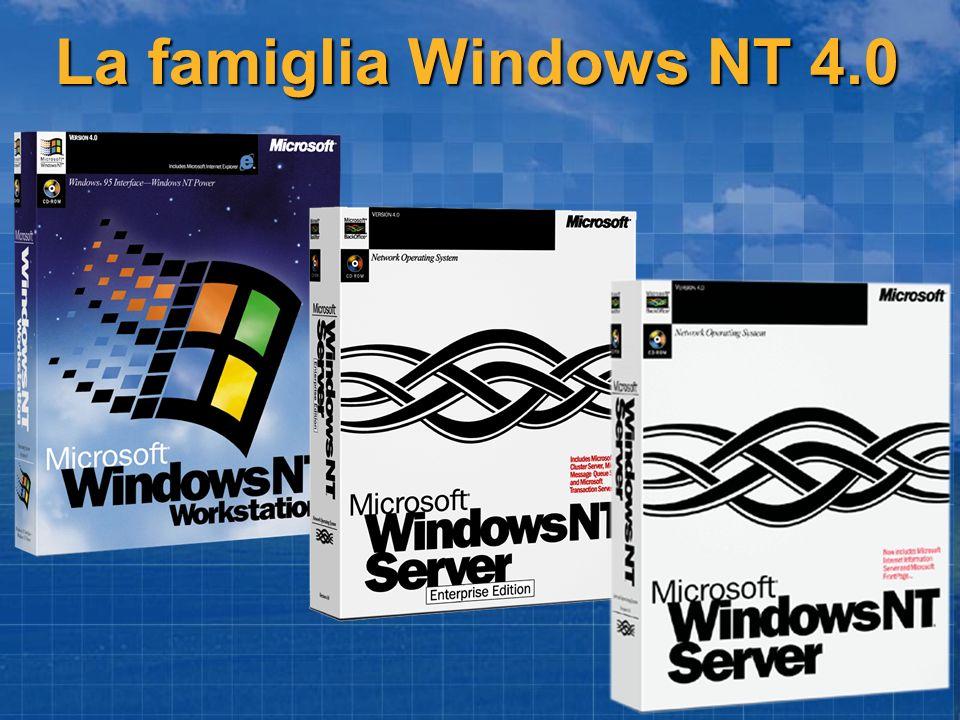 La famiglia Windows NT 4.0
