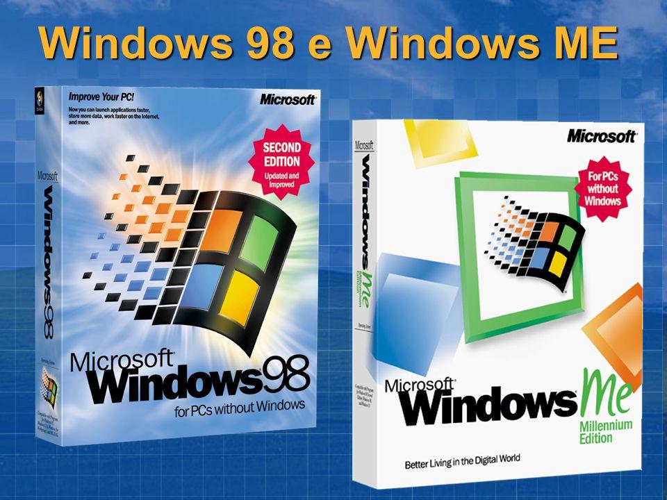 Windows 98 e Windows ME