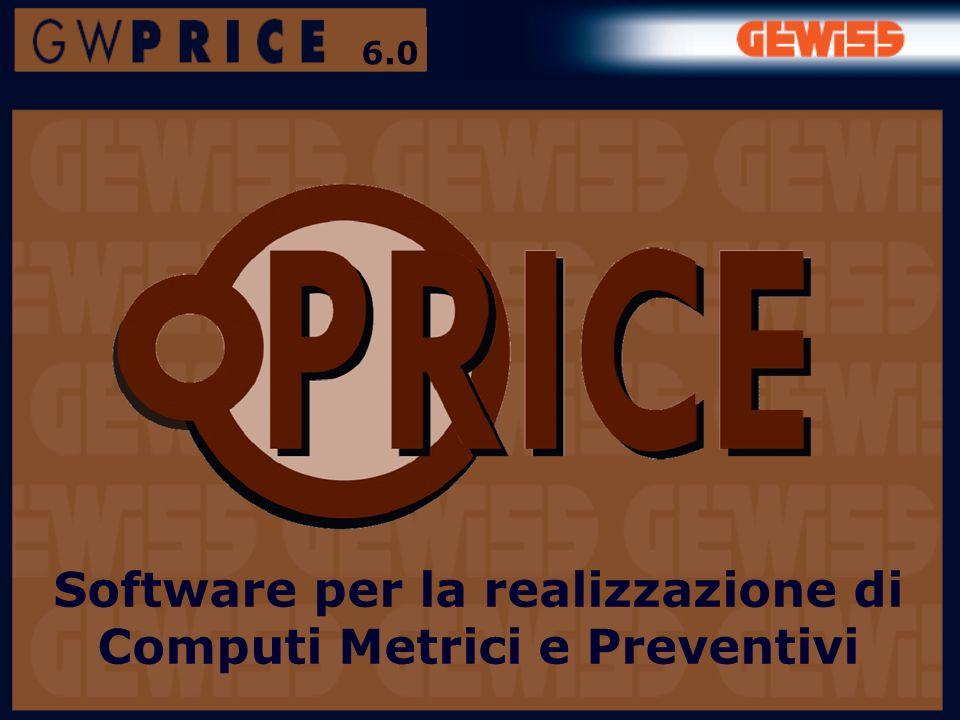 Software per la realizzazione di Computi Metrici e Preventivi 6.0
