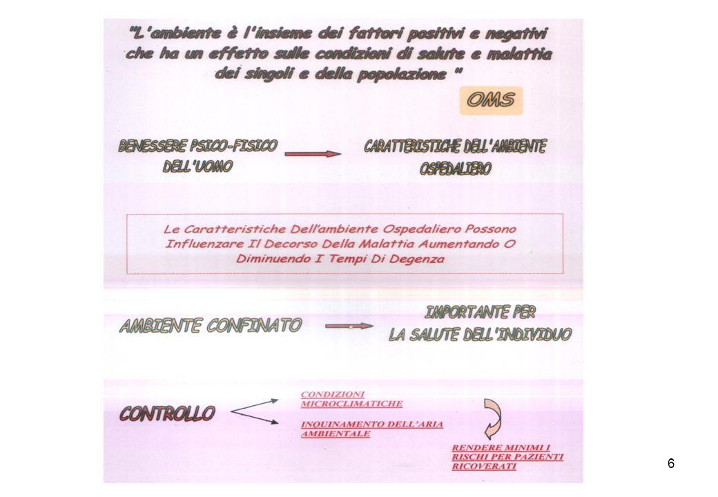 17 ALTERAZIONE DELLORIGINARIO STATO DI BENESSERE AMBIENTALE (COMFORT) DOVUTA A MODIFICAZIONE DEI PARAMETRI FISICI E CHIMICI.
