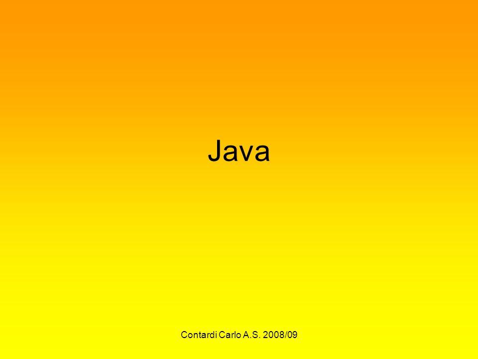 Contardi Carlo A.S. 2008/09 Java