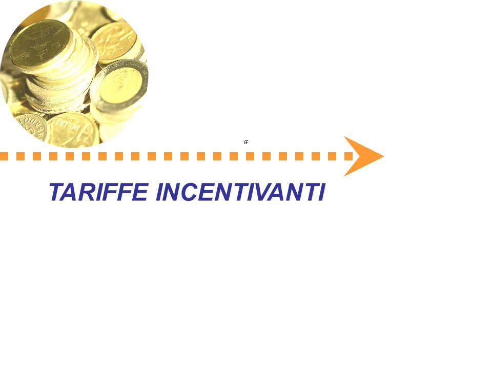 TARIFFE INCENTIVANTI