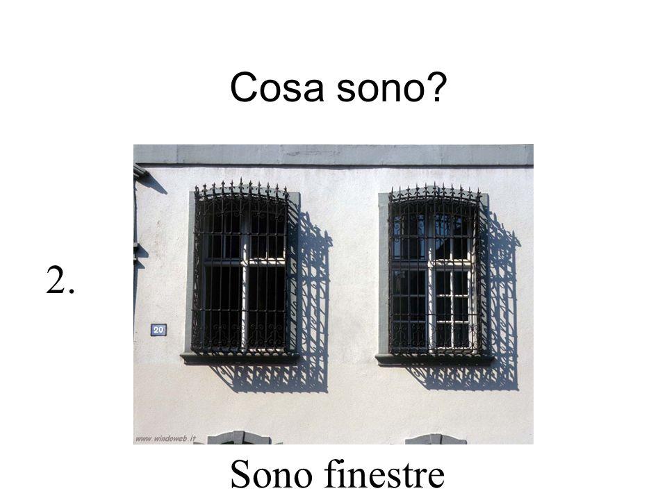 Cosa sono? Sono finestre 2.